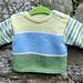 Stripy Baby Sweater pattern