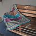 IKENA Mosaic Throw pattern