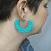 Picot Crochet Earrings pattern