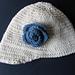 Peaked Toddler Hat pattern