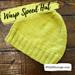 Warp Speed Hat pattern