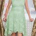 Green summer dress pattern
