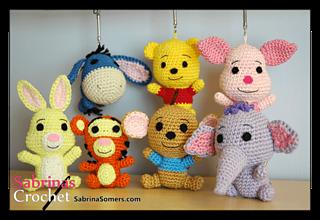 Amigurumi Crochet Winnie the Pooh Free Pattern - Amigurumi Free ... | 220x320