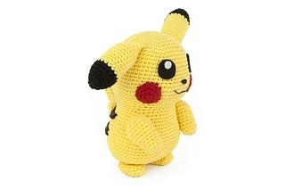 Pikachu Free Crochet Pattern • Spin a Yarn Crochet | 213x320