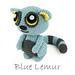 Blue Lemur pattern