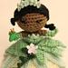 Cajun Beauty Amigurumi doll pattern