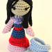 Samurai Princess Amigurumi Doll pattern