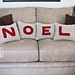 NOEL Pillow Covers pattern