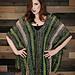 Graceful Green Poncho pattern
