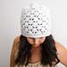 Venus Shell Slouch Hat pattern