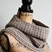 Spider Stitch Trimmed Cowl pattern