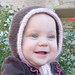 Seamless Aran Toddler Bonnet pattern
