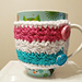 Wrapped in Stars Mug Cozy pattern