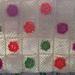 Babyfilt med  mormorsblommor pattern