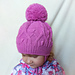 Winter Hat Rosemary pattern