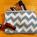 The Chevron Mini Clutch pattern