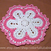 Flower rug pattern
