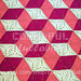 3D illusion blanket pattern