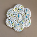 Flower Scrubbie pattern