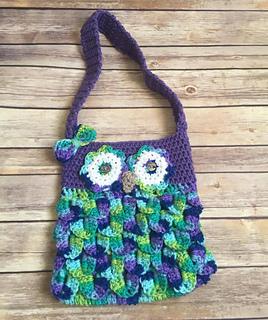 Ravelry Owl Handbag Pattern By Knitty