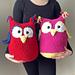 Owl Pillow Stuffed Animal pattern