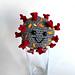 Corona Virus Amigurumi pattern