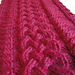 Plaited Cable Scarf pattern
