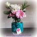 Love Heart Vase Cosy pattern