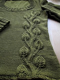 Phildar leaf sweater