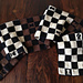 Chess Piece Scarf pattern