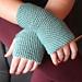 Garter Stitch Fingerless Gloves pattern