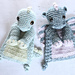 Baby Dino/Dragon mini Ragdoll pattern