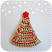 Christmas Tree Ornament / Applique or Decoration! (Chritmas CAL #3) pattern