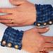 Reverse Rib Wristlets pattern