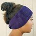Seed Stitch Ear Warmer pattern