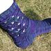 Indian Violets pattern