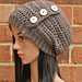 Hadley Button Slouch Hat pattern
