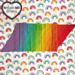 Spectrum Scarf pattern