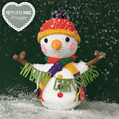 Wobbly Snowman by Matt Farci, featured in Pretty Little Things 10 Festive.