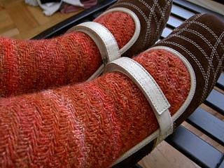 Twisted Tweed socks