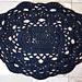 Spaghetti Lace Rug pattern