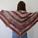 Sienna Harvest Berry Shawl pattern