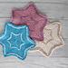 Blessed Three Star Coaster pattern