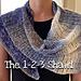 The 1-2-3 Shawl pattern