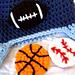 Sports Ball Applique Set pattern