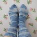 Sweet Bee Socks pattern