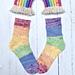 Timely Tulip Socks pattern