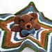 The Cuddliest Crochet Bear Lovey pattern