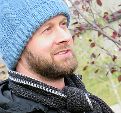 Cabled Beanie Crochet Pattern for Men