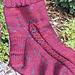Mendocino Clock Socks pattern